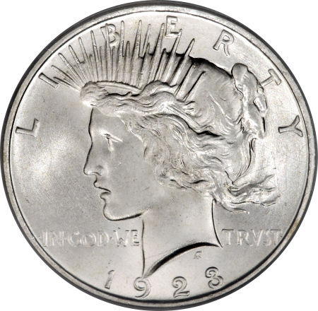 1923 D Peace Silver Dollar Coin Value Facts