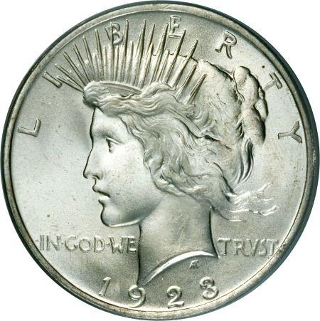 1923 Silver Dollar Value
