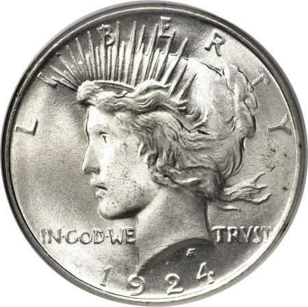 1924 Peace Silver Dollar Coin Value Facts