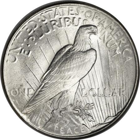 1924 Peace Dollar Reverse