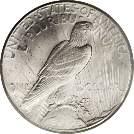 1927 Peace Dollar Reverse