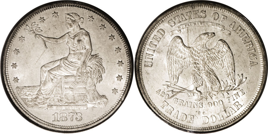 1873-CC Trade Dollar Value