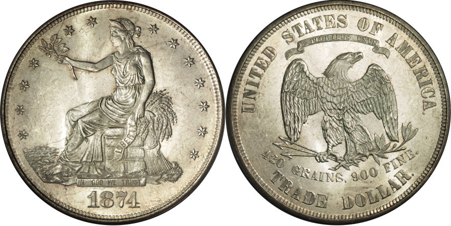 1874 Trade Dollar Value