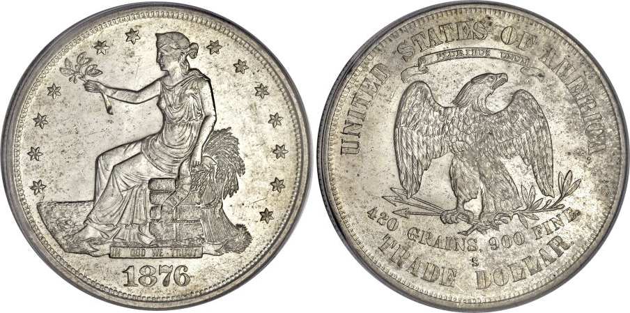 1876-S Trade Dollar Value