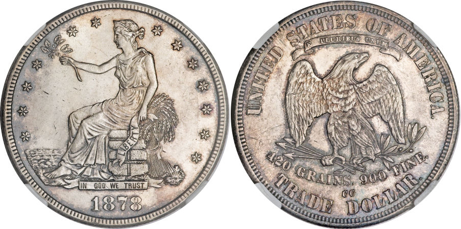 1878-CC Trade Dollar Value
