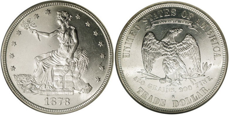 1878-S Trade Dollar Value