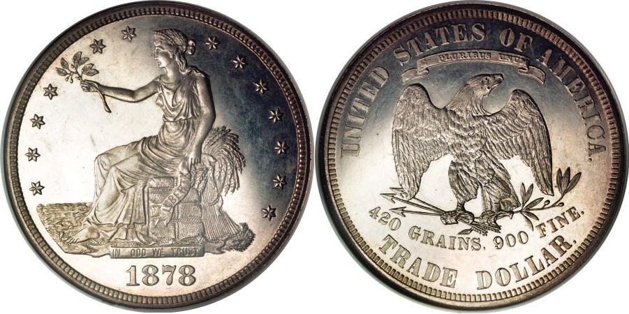 1878 Trade Dollar Value