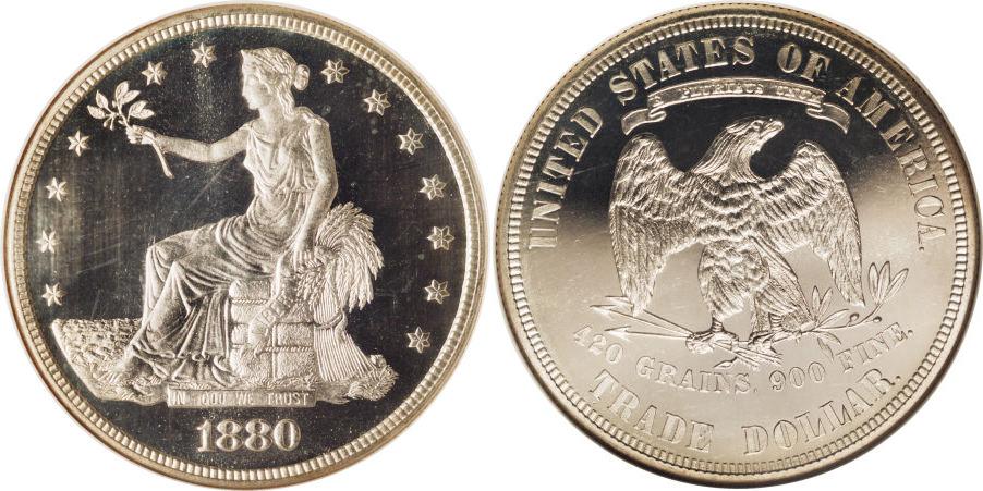 1880 Trade Dollar Value