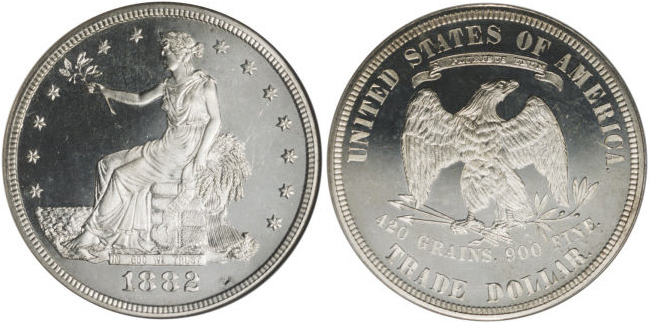 1882 Trade Dollar Value