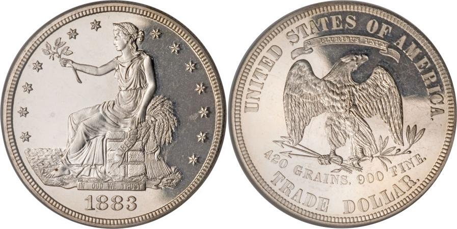 1883 Trade Dollar Value
