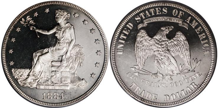 1884 Trade Dollar Value