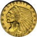 $2.50 Gold Coin Facts Image