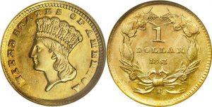$1 Gold Indian Princess Value