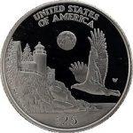 1998 Platinum Eagle Reverse