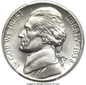 1938-D Jefferson Nickel Value