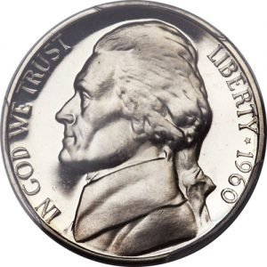 1960 Jefferson Nickel Value