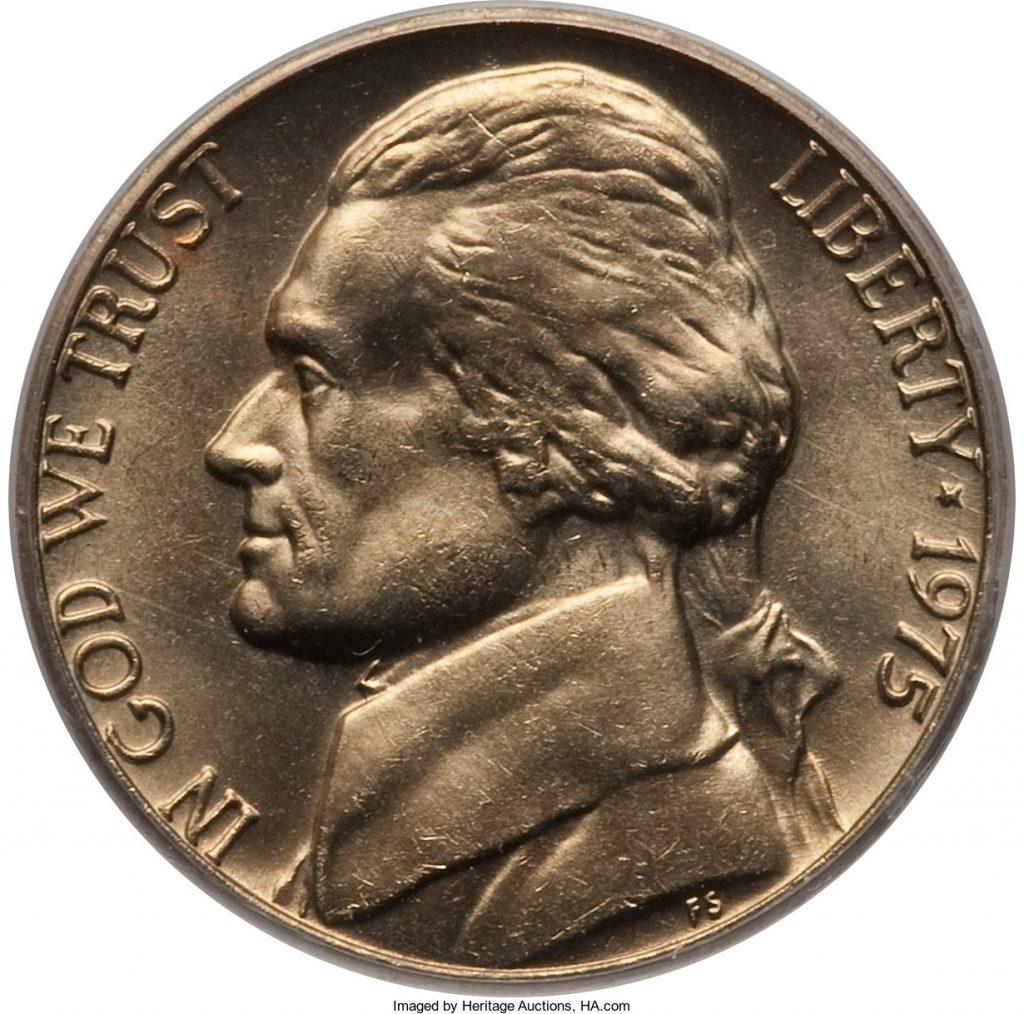 1975-D Jefferson Nickel Value