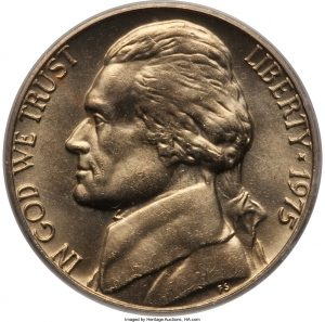 1975 Jefferson Nickel Value