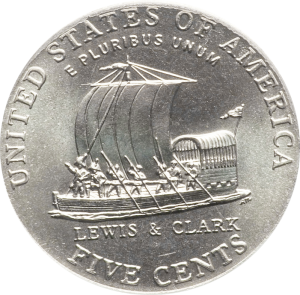 2004-p jefferson nickel value keel boat