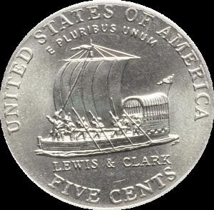 2004-p jefferson nickel value keel boat