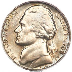 1968-D Jefferson Nickel Value