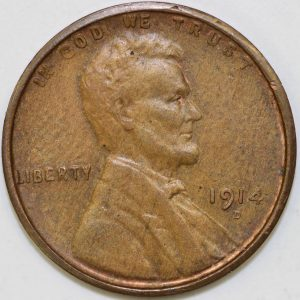 1914-D Lincoln Cent Counterfeit