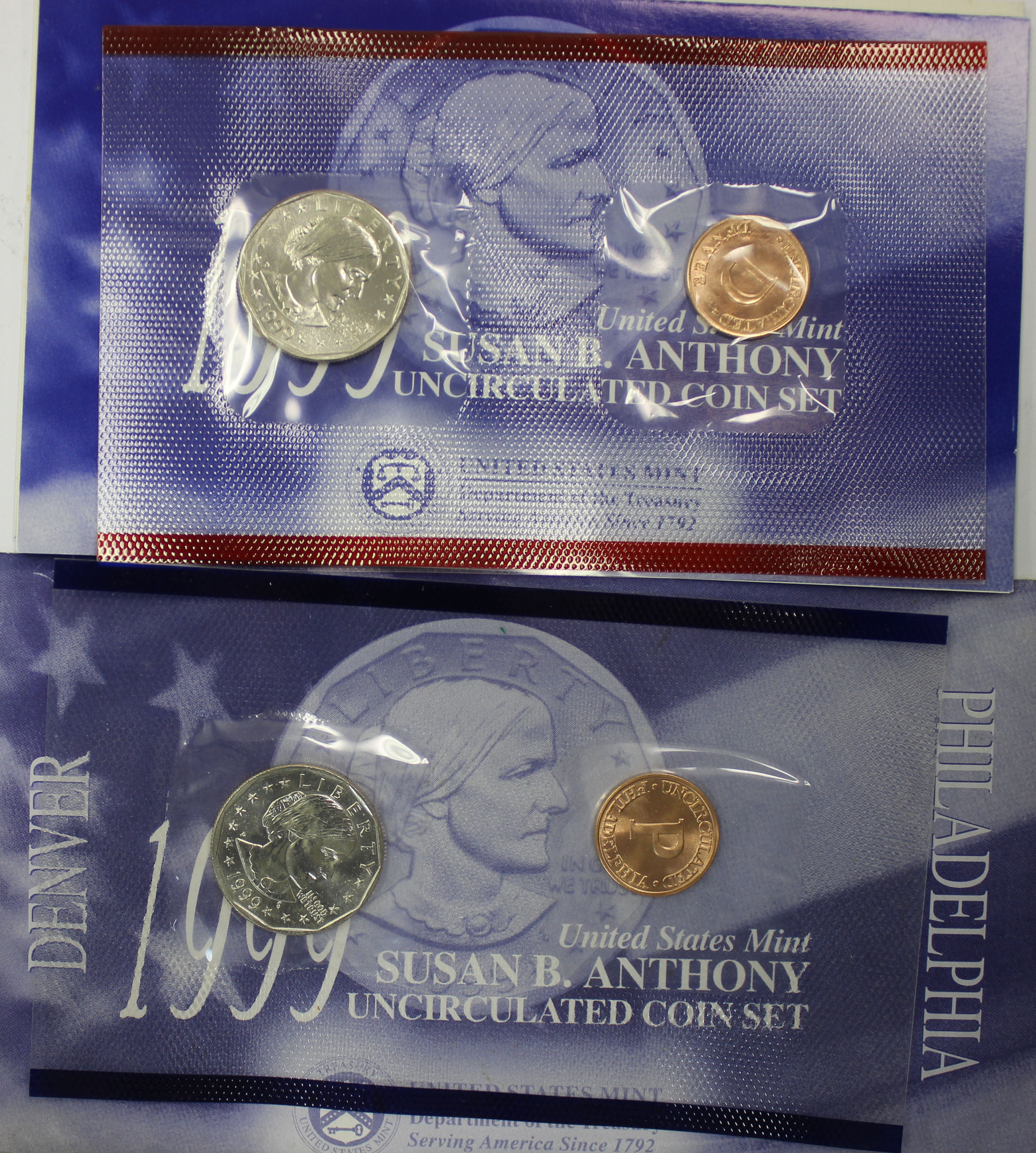 1999 Susan B Anthony Dollar Souvenir Set Value Coinhelp