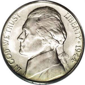 1944-P Jefferson Nickel Value Silver War Nickel Value