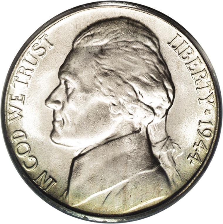 1944-D Jefferson Nickel Value Silver War Nickel Value