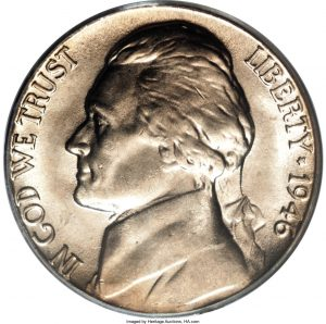 1946-D Jefferson Nickel Value