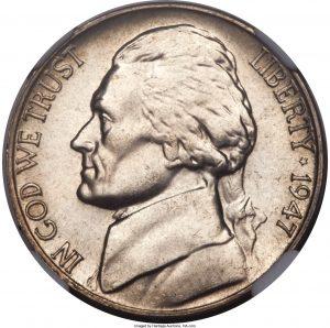 1947 Jefferson Nickel Value