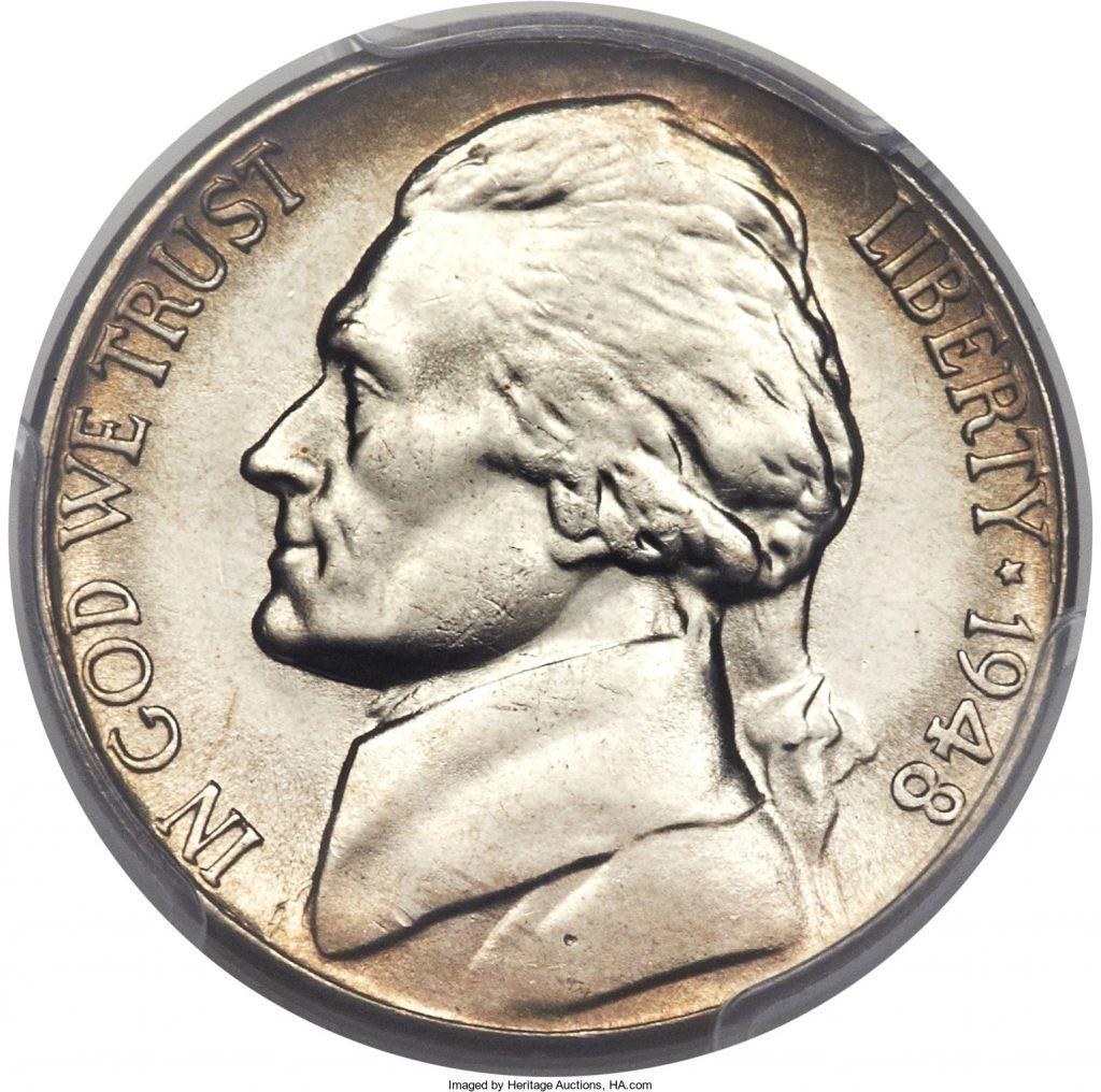 1948-S Jefferson Nickel Value