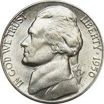 1950-D Jefferson Nickel Value