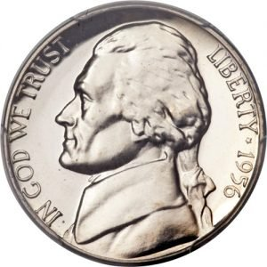 1956 Jefferson Nickel Value