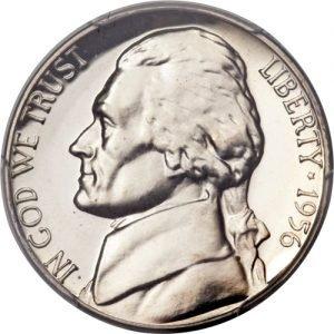 1956 Jefferson Nickel Value