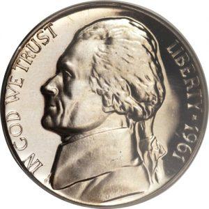 1961 Jefferson Nickel Value