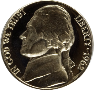 1962-D Jefferson Nickel Value