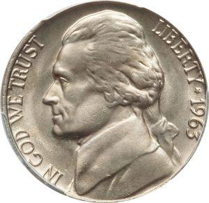 1963 Jefferson Nickel Value