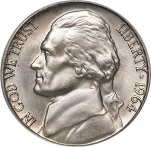 1964 Jefferson Nickel Value