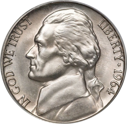 1964-D Jefferson Nickel Value