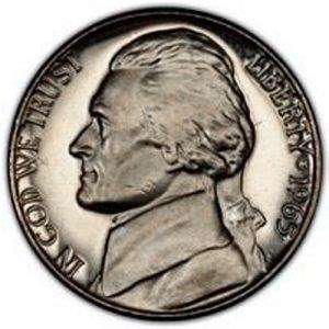 1965 Jefferson Nickel Value