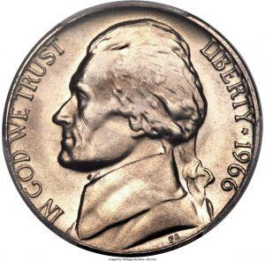 1966 Jefferson Nickel Value