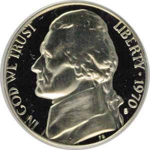 1970-S Jefferson Nickel Value
