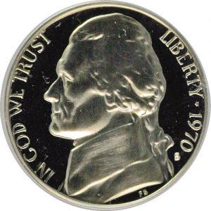 1970-D Jefferson Nickel Value