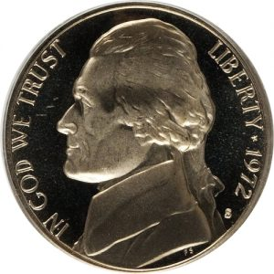 1972 Jefferson Nickel Value