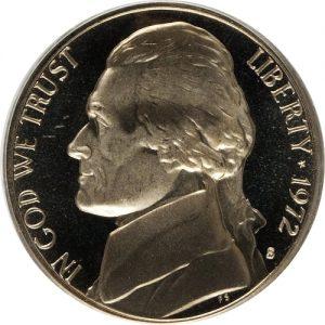 1972 Jefferson Nickel Value