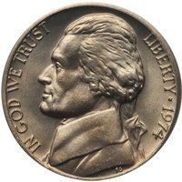 1974-D Jefferson Nickel Value