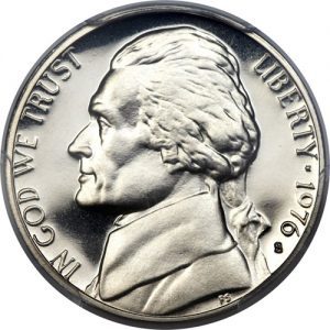1976 Jefferson Nickel Value