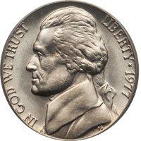 1977-D Jefferson Nickel Value