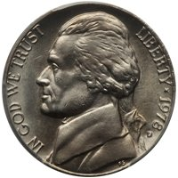 1978 Jefferson Nickel Value